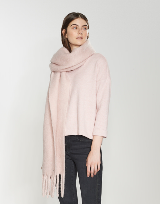 Oversized scarf Aflisa scarf pink by OPUS   shop your favourites online 68c2c5a07861