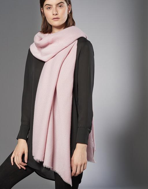 Sjaal Asomi scarf blush melange
