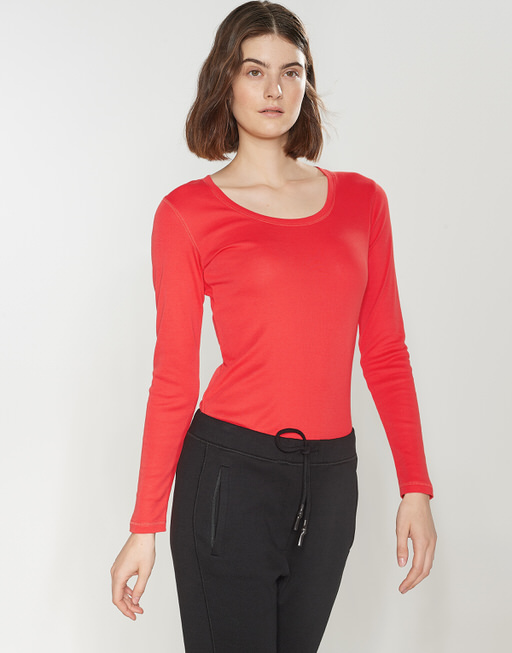 Longsleeve Sorana darling red