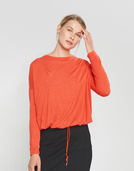 Boxy Shirt Silkina darling red