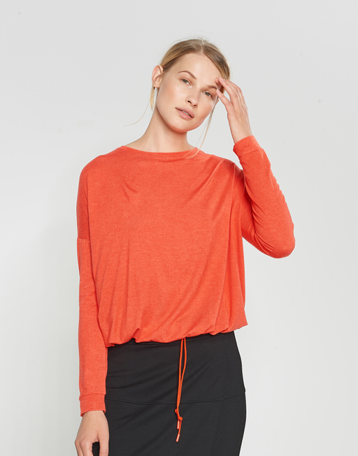 Boxy shirt Silkina darling red