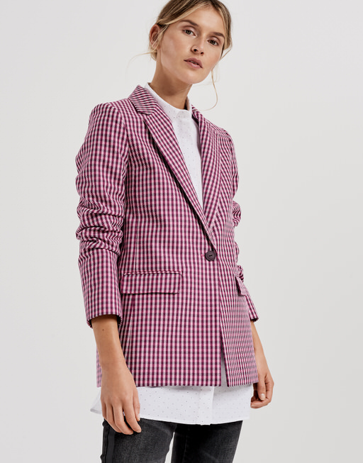 Blazer Jusanna dark beetroot