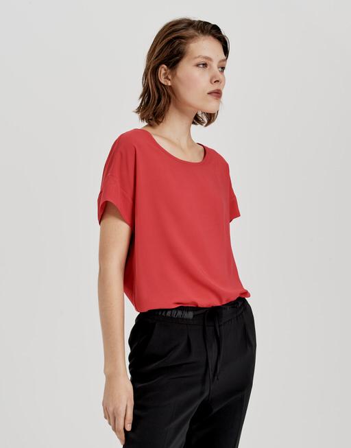Oversize Shirt Skita true red