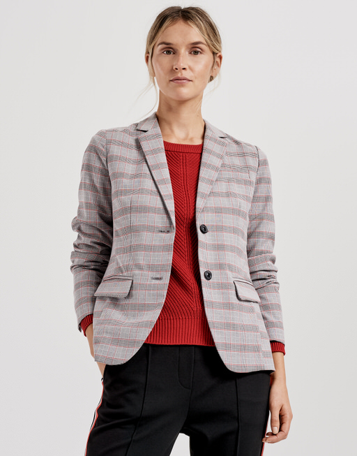 Blazer Janinka square true red