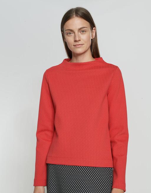 Sweatshirt Galvana true red