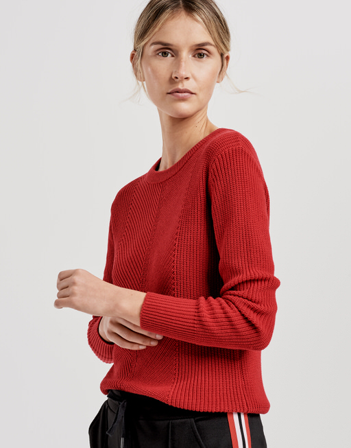 Pullover Puxel true red