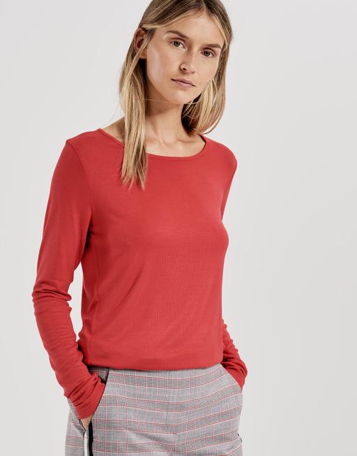Long sleeve shirt Semke true red