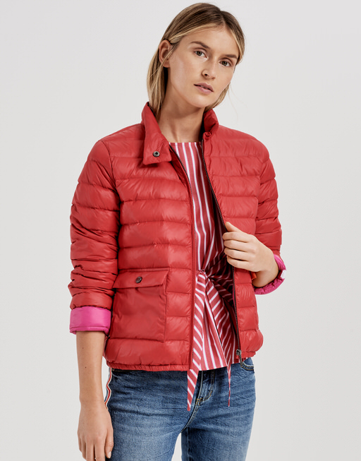 Steppjacke Hanami true red