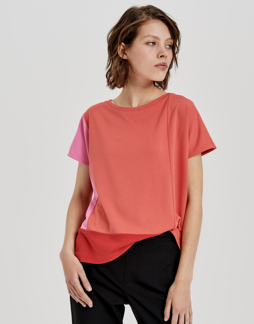 T-Shirt Senike paradise red