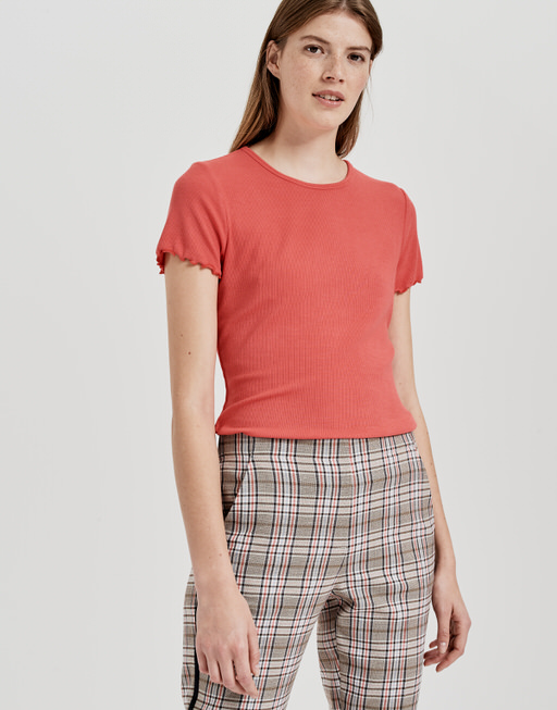Shirt met ronde hals  Sumania paradise red