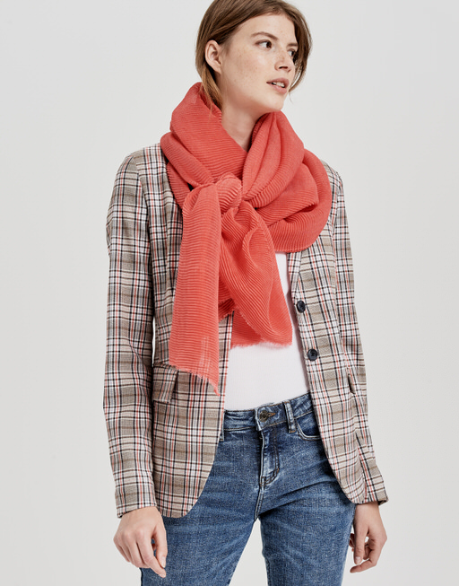 Schal Aplisi scarf paradise red