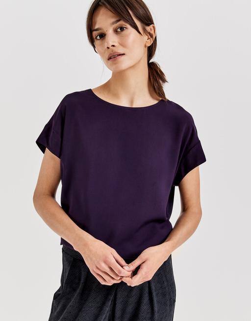 Oversized shirt Skita dark violet