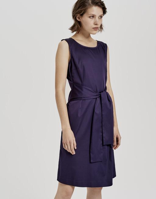 Kleid Welia solid dark violet