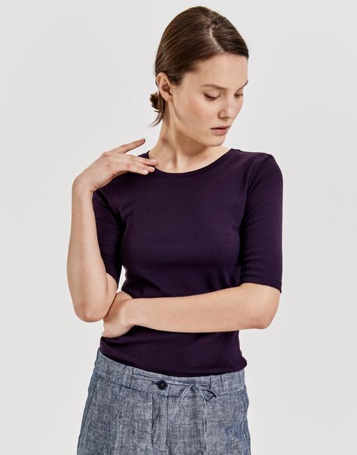 T-Shirt daily B dark violet