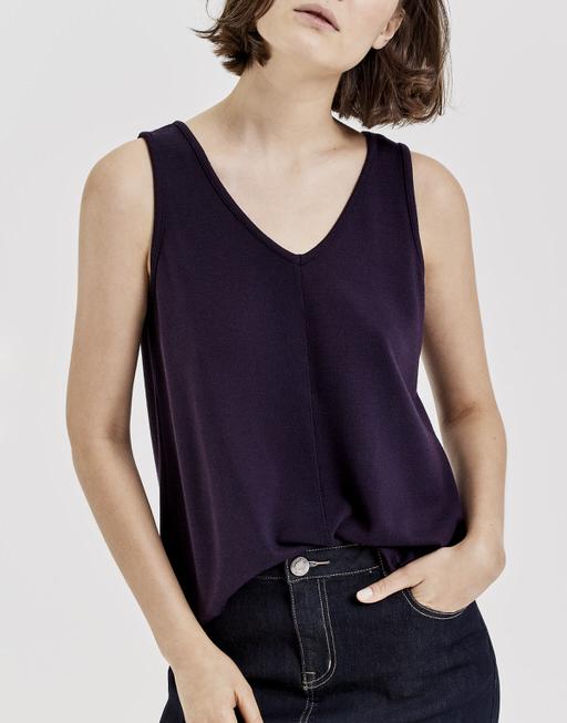 Top Imoka dark violet