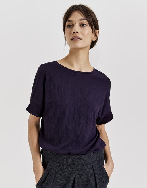 Shirt Sartine dark violet