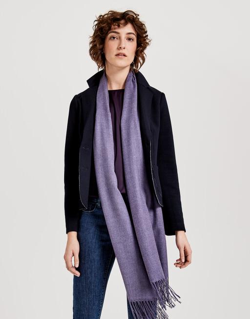 Schal Amasa scarf dark violet