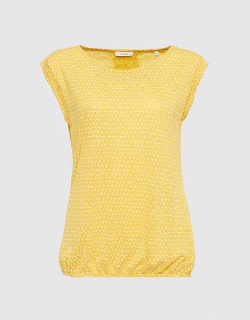 Shirt met print Strolchi triangle cloudy sun