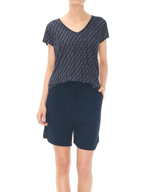 Shirt met print Samo diamond  lush blue
