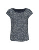 Shirtbluse Flinka flower dark night