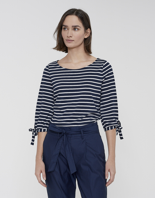 Gestreept shirt Snookie stripe dark night