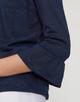 T-shirt cardigan Sebila dark night