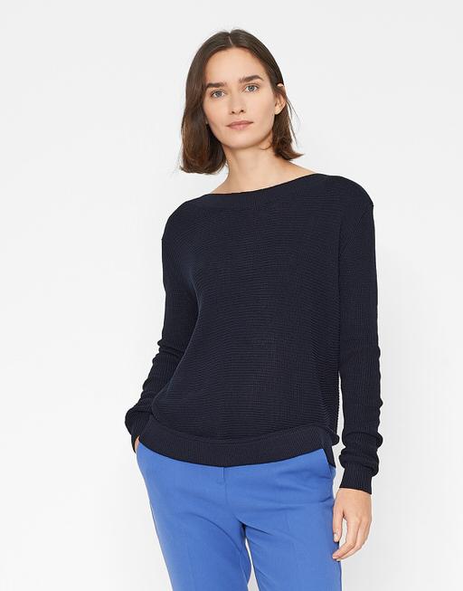 Boxy Pullover Paulita reliable blue