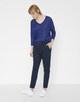 Oversize Shirt Sunshine blue anemone
