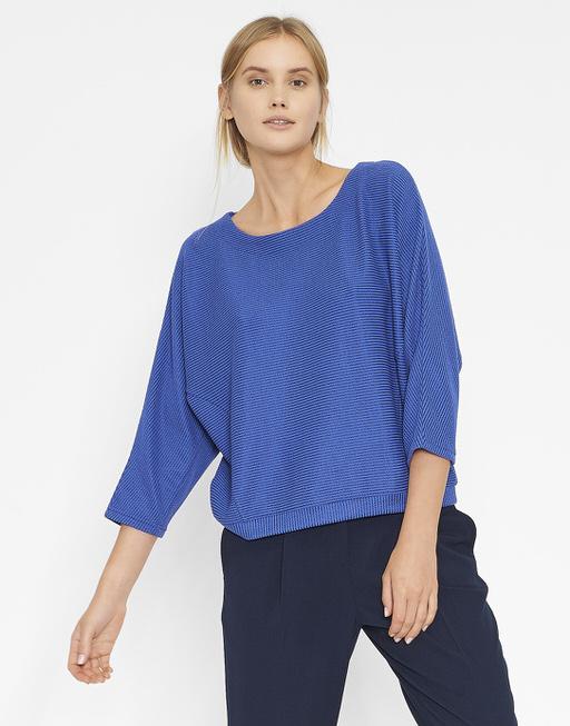 Oversize-Shirt Gemila blau online bestellen | OPUS Online Shop