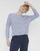 Motiv Shirt Sarony blue anemone