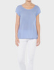 Shirtbluse Fjelmi spotted HS tender blue