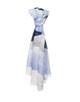 Sommerschal Awella scarf tender blue