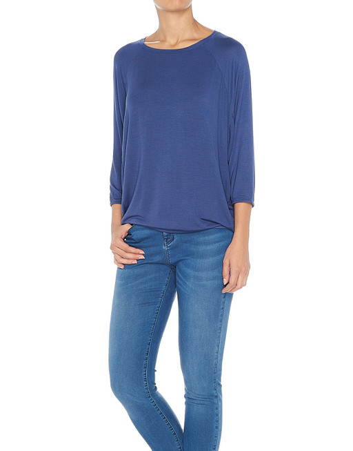 Oversize Shirt Salty violet blue