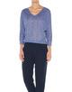 Oversize Shirt Sunshine violet blue