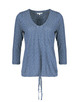V-Shirt Sammi spot HS violet blue