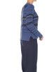 Strickpullover Ponka violet blue
