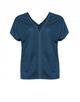 V-Shirt Spomenka thunder blue