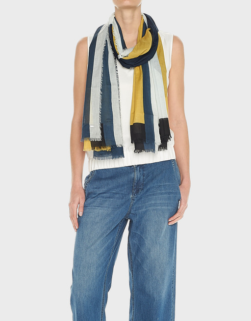 Sommertuch Atami scarf sea ground