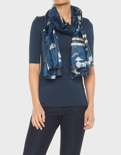 Schal Anika scarf sea ground