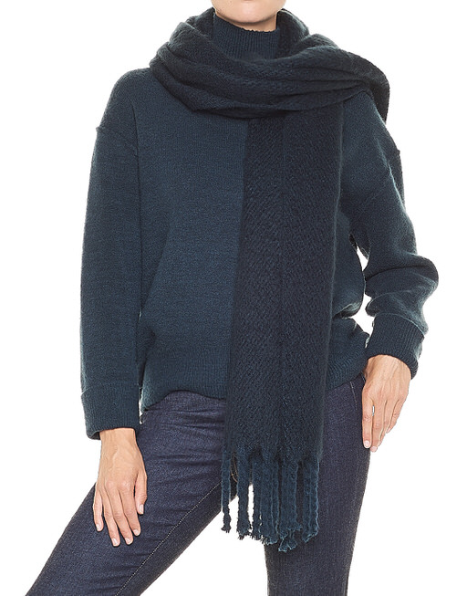 Oversized scarf Aflisa scarf blue by OPUS   shop your favourites online 96aa1c734a3d