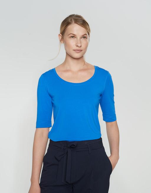 Basic shirt Sanika blue iris