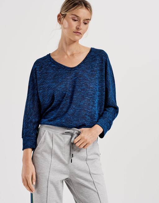 Oversized shirt Sunshine blue iris