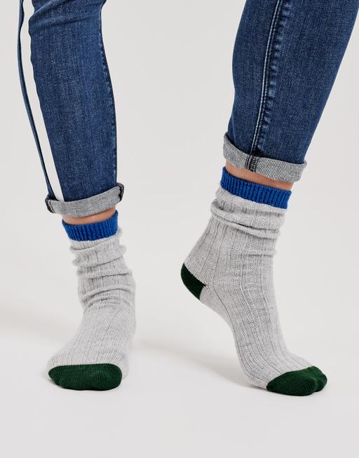 Socke Yanna color blue iris