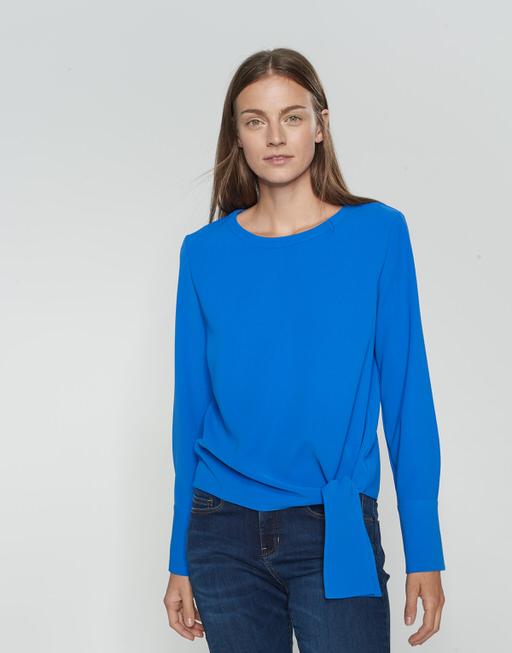 Shirtblouse Flota blue iris