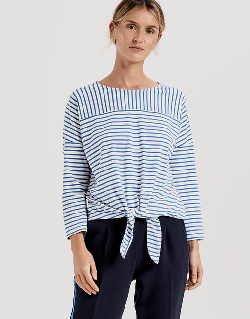 Stripe shirt Siplak blue iris