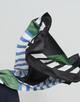 Streifenschal Amate scarf blue iris