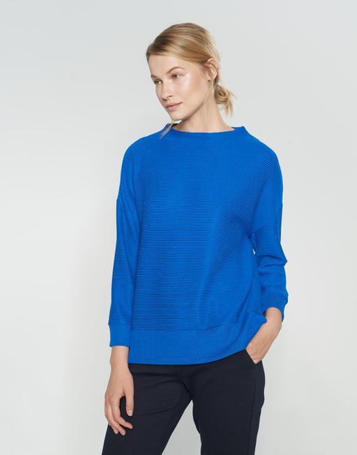 Sweatshirt Gemola blue iris