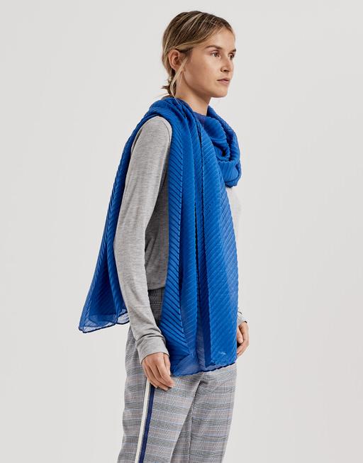 Schal Aplina scarf blue iris