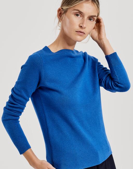Pullover Polviny blue iris