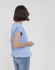 Boxy Shirt Sendruka dream blue